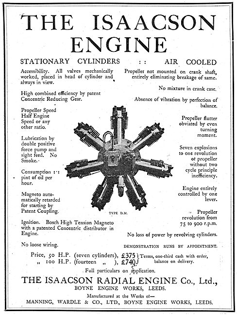The Isaacson Radial Engine - Stationary Cylinders