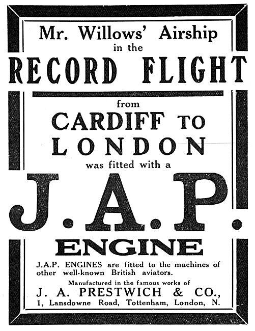 John A.Prestwich. JAP Aero-Engines