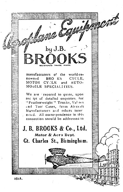 J.B.Brooks Aircraft Equipment