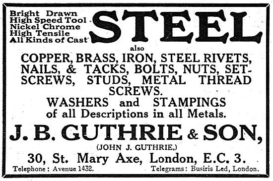 J.B.Guthrie & Son - AGS Parts & Accessories Manufacturers