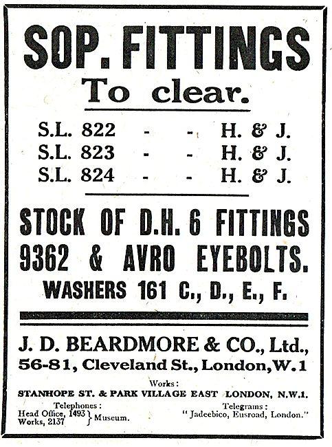 J.D.Beardmore & Co - Capstan Presswork & Grinding