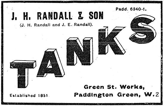 Randall Aircraft Fuel Tanks