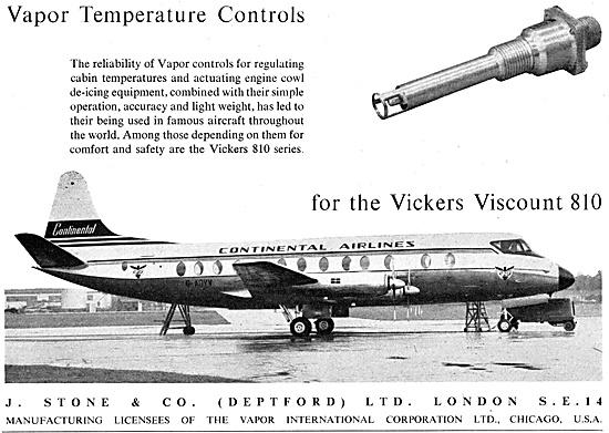 J,.Stone Vapor Temperature Controls