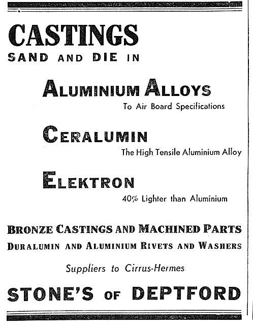 Stones Of Deptford  - Elektron - Cerakumin - Aluminium Castings