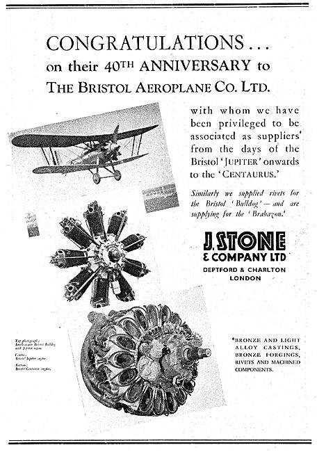 J.Stone & Co - Light Alloy & Elektron Castings