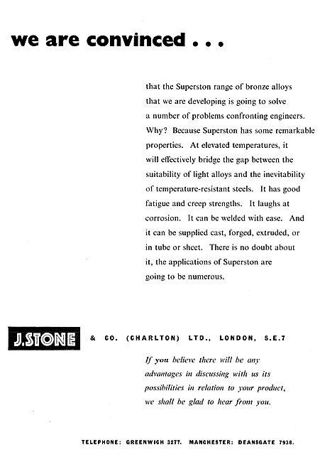 J,.Stone & Co - Light Alloy & Elektron Castings