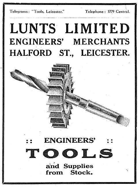 Lunts Ltd - Engineers' Merchants. Engineers' Tools