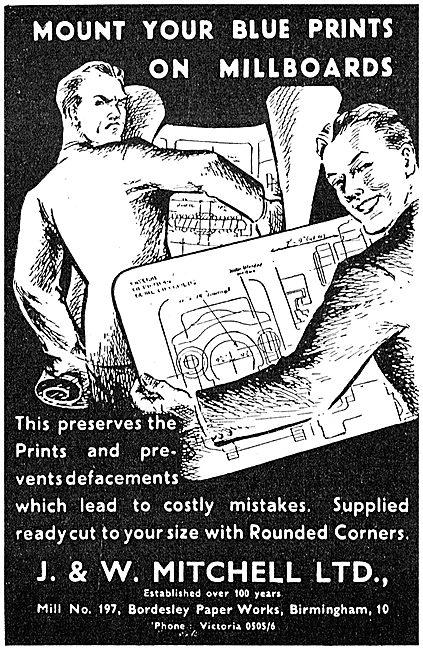 J.& W.Mitchell - Blue Print Millboards 1943