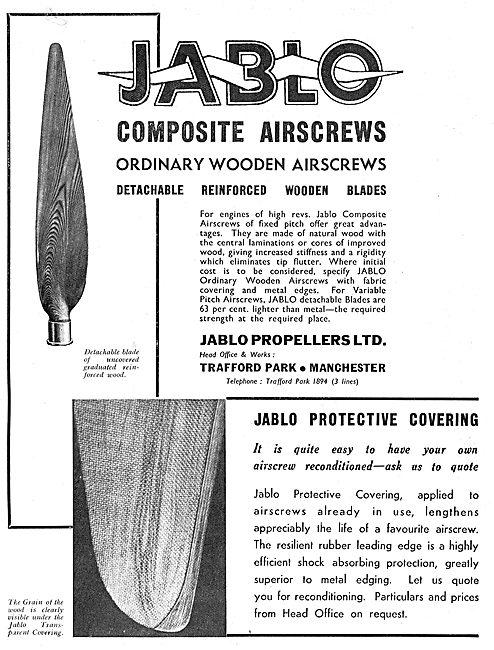 Jablo Propellers - Composite Airscrews