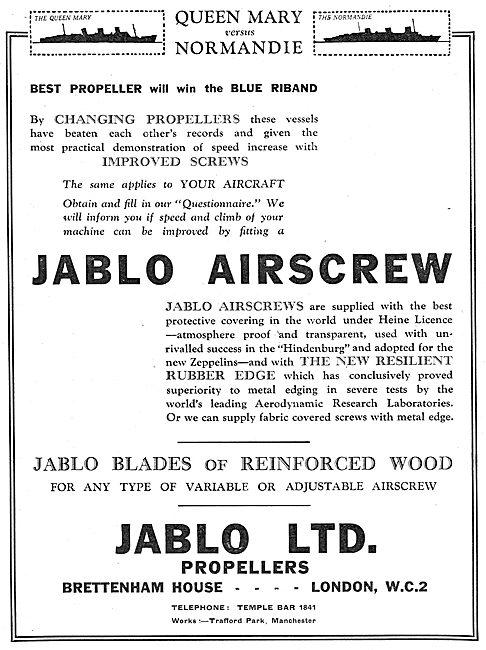 Jablo Airscrews