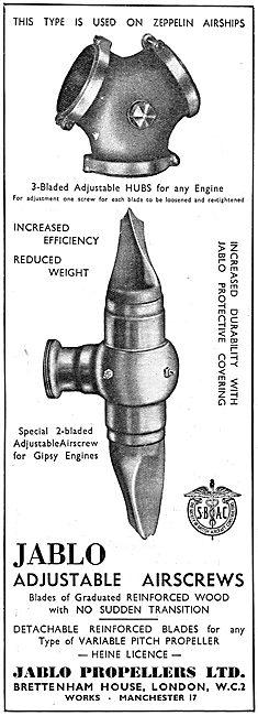 Jablo Adjustable Airscrews
