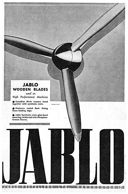 Jablo Wooden Propeller Blades