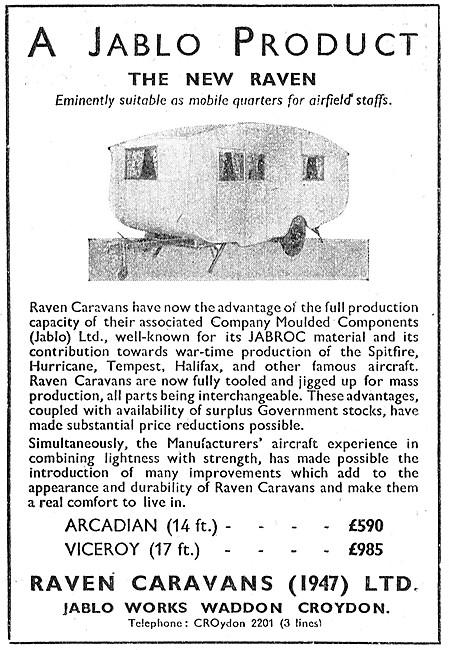 Raven Caravans - The New Raven. Arcadian Viceroy Jablo Works