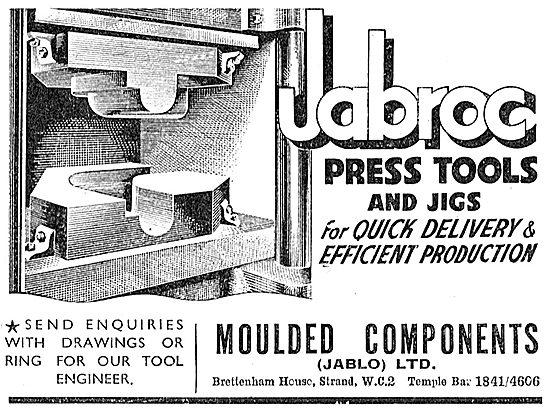 Jablo Press Tools & Jigs- Moulded Components (Jablo) Ltd