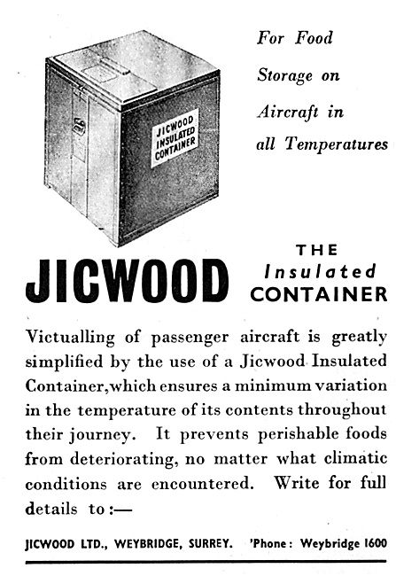 Jicwood Insulated Catering Containers 1947