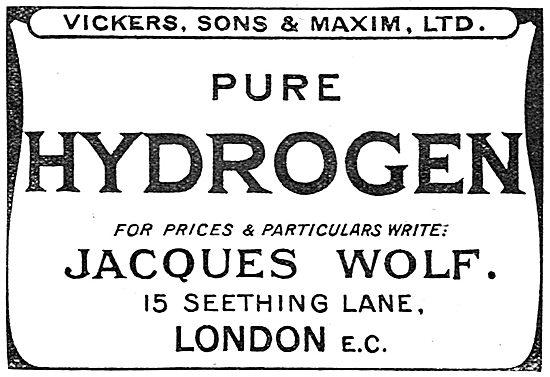 Viceksr, Sons & Maxim Ltd. Jacques Wolf. Pure Hydrogen