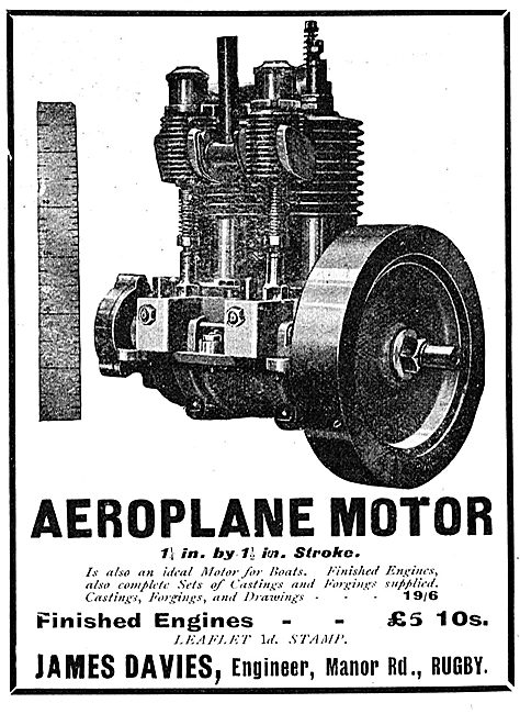 James Davies Aeroplane Motors