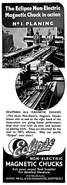 Eclipse Non-Electric Magnetic Chucks