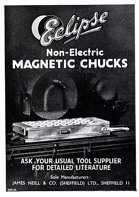 Eclipse Hack Saw Blades & Non-Electric Magnetic Chucks