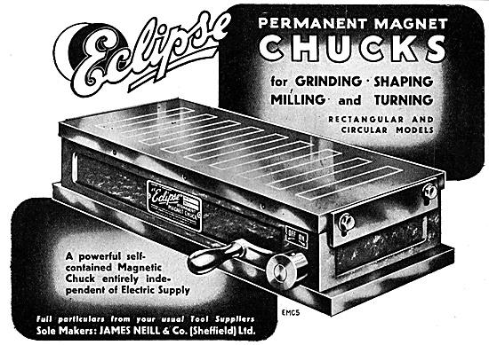 James Neill Eclipse Permanent Magnet Chucks