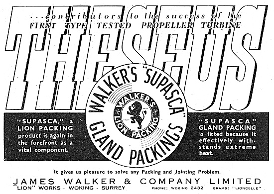 James Walker. Lion Supasca Gland Packing