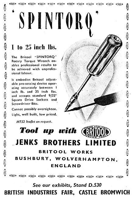 Jenks Bros Britool Engineering Tools - Spintorq