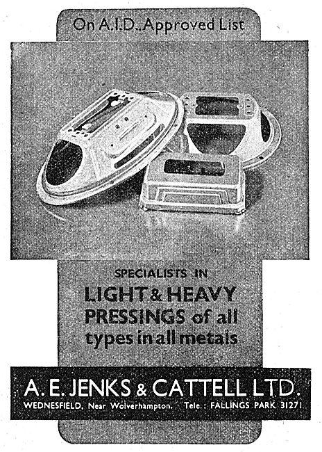 Jenks & Cattell Metal Pressings