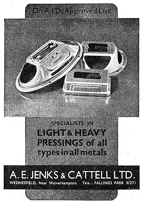 Jenks & Cattell Presswork