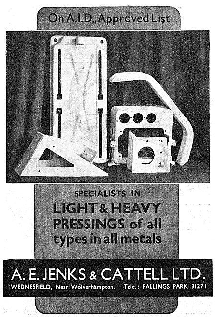 Jenks & Cattell - Pressings