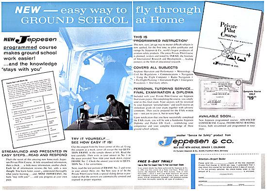 Jeppesen Airway Manuals & Pilot Ground School Training Manuals