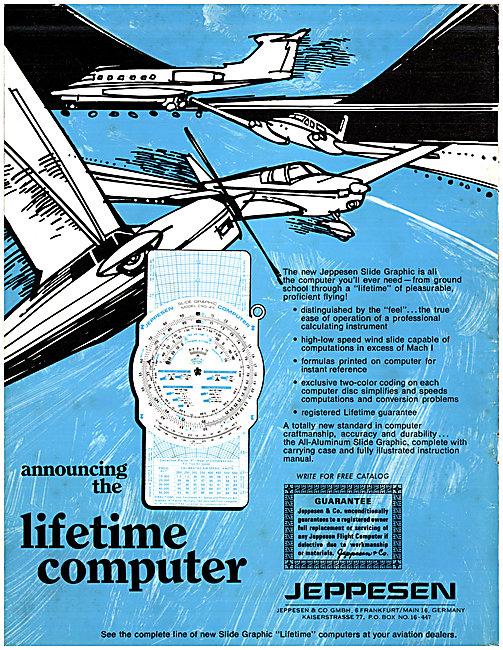 Jeppesen Navigation Computer 1969