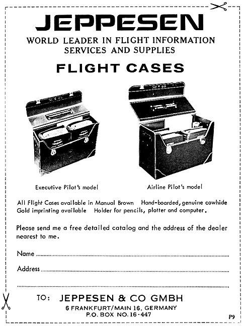 Jeppesen Flight Cases