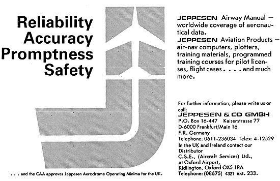 Jeppesen Airways Manuals, Flight Guides & Pilots Supplies