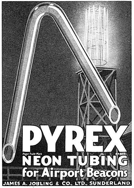 Jobling PYREX Neon Tubing For Airport Beacons