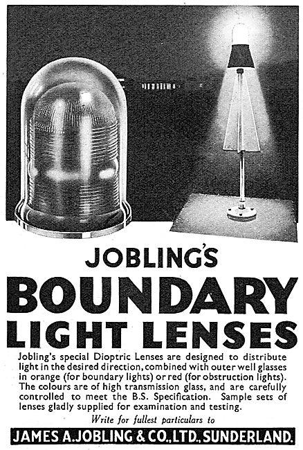 Jobling Airfield Boundary Light Lenses