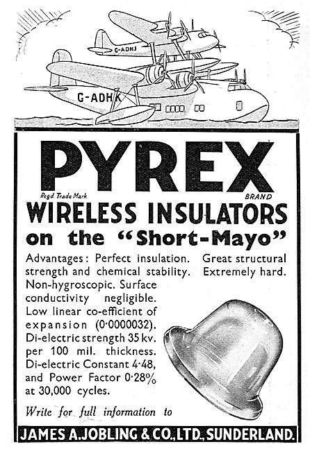 Jobling PYREX Wireless Insulators