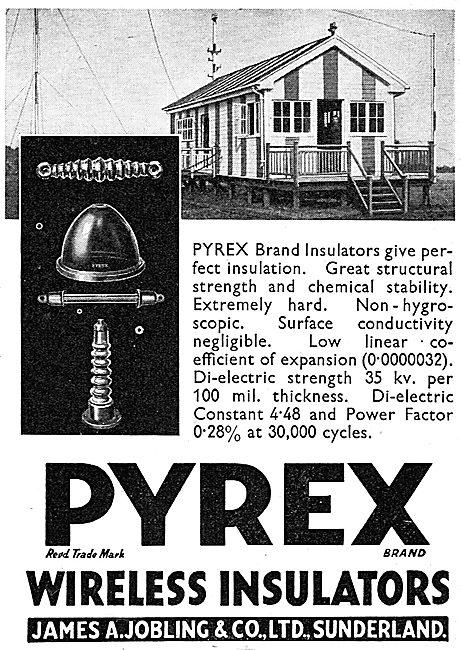 James A.Jobling PYREX Wireless Insulators