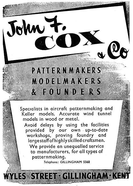 John Cox - Patternmakers, Modelmakers & Founders