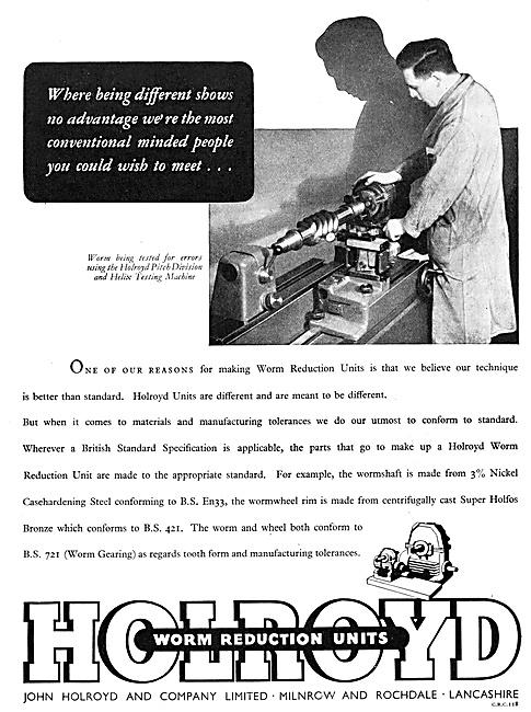 John Holroyd Pitch Division & Helix Testing Machine