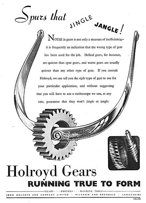 John Holroyd Gear Manufacturers - Holroyd Gears