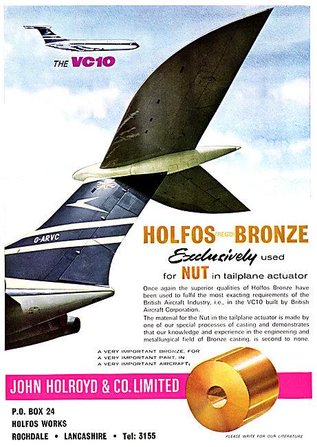 John Holroyd & Co. Rochdale. HOLFOS Nuts