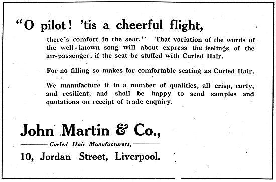 John Martin & Co. Curled Hair Manufacturers. Jordan St. Liverpool