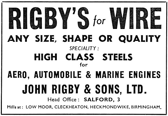 Rigbys  Wires, AGS & General Engineering