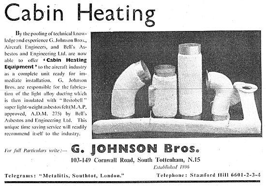 G.Johnson Bros - Cabin Heating Equipment