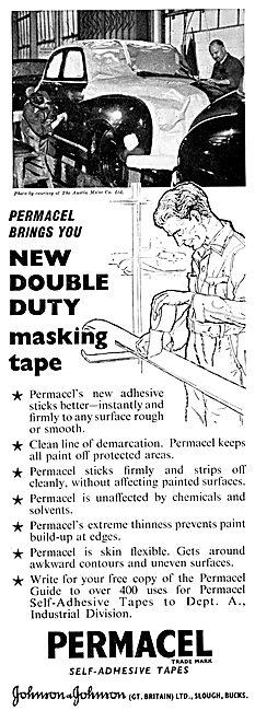 Johnson & Johnson Permacel Self-Adhesive Tapes & Masking Tapes