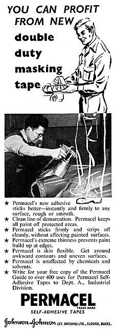 Johnson & Johnson Permacel Masking Tape