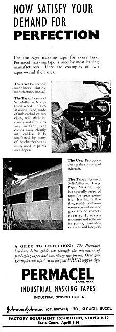 Johnson & Johnson Permacel Industrial Masking Tapes