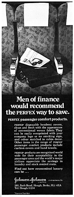 Johnson & Johnson PERFEX Passenger Comfort Products