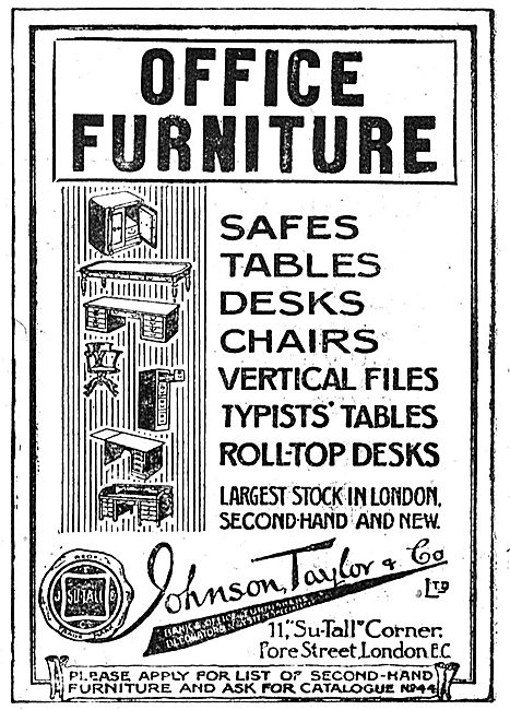 Johnson, Taylor & Co - Office Furniture