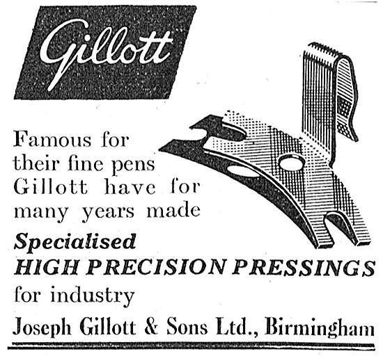 Joseph Gillott High Precision Pressings